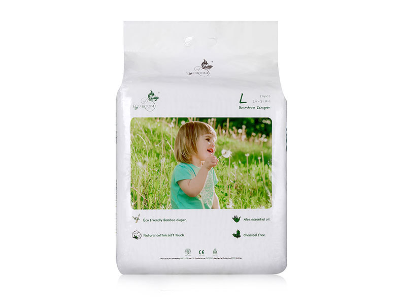 Eco Friendly Baby Diaper Pack In Polybag L