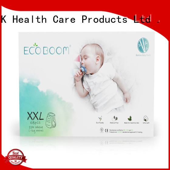 ECO BOOM baby diaper manufacturer factory