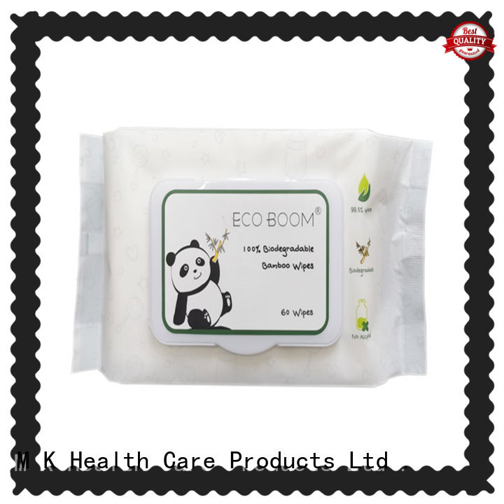 ECO BOOM make own baby wipes company
