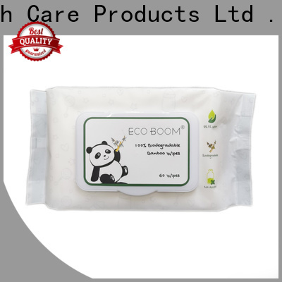 ECO BOOM New natural baby face wipes for business