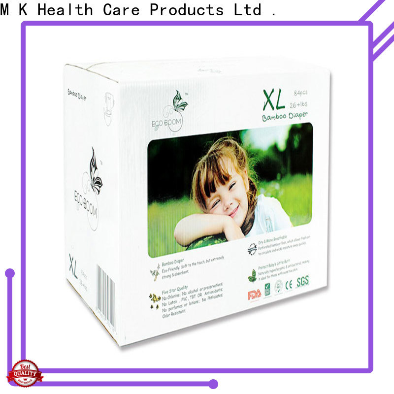 ECO BOOM Wholesale huge box of diapers company