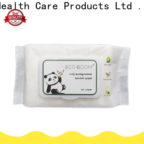 ECO BOOM parabens in baby wipes company