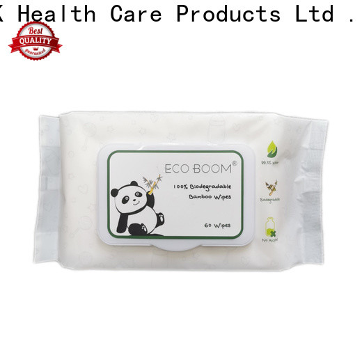 High-quality bambo nature wipes ingredients Supply