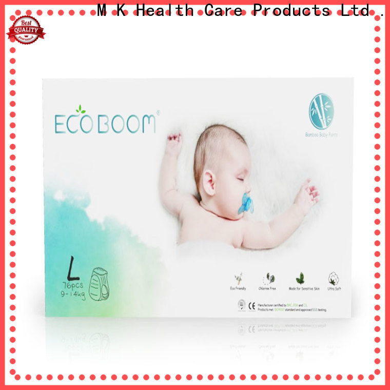 ECO BOOM cloth diaper pads company