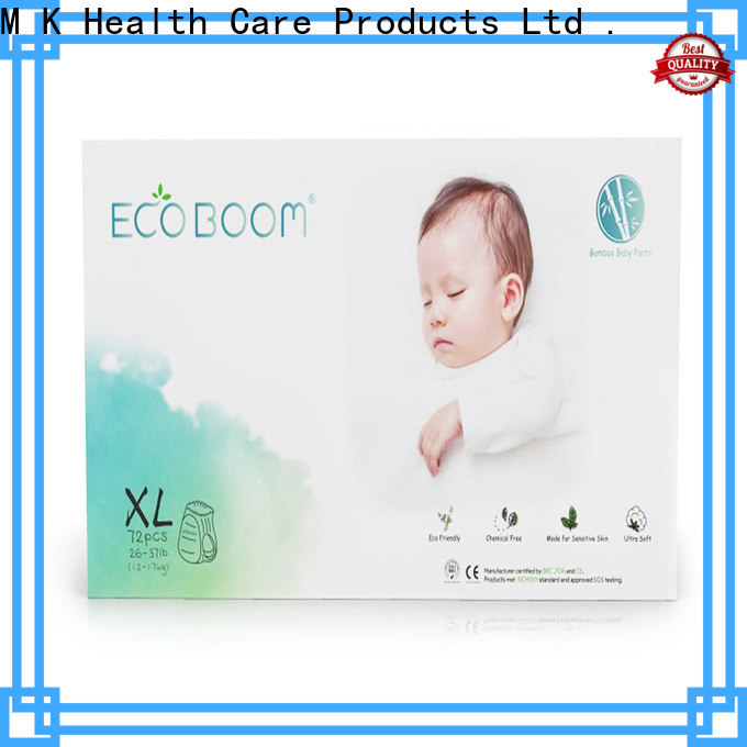 ECO BOOM organic diapers for business