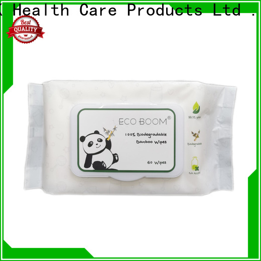 ECO BOOM Custom baby wipes without parabens factory