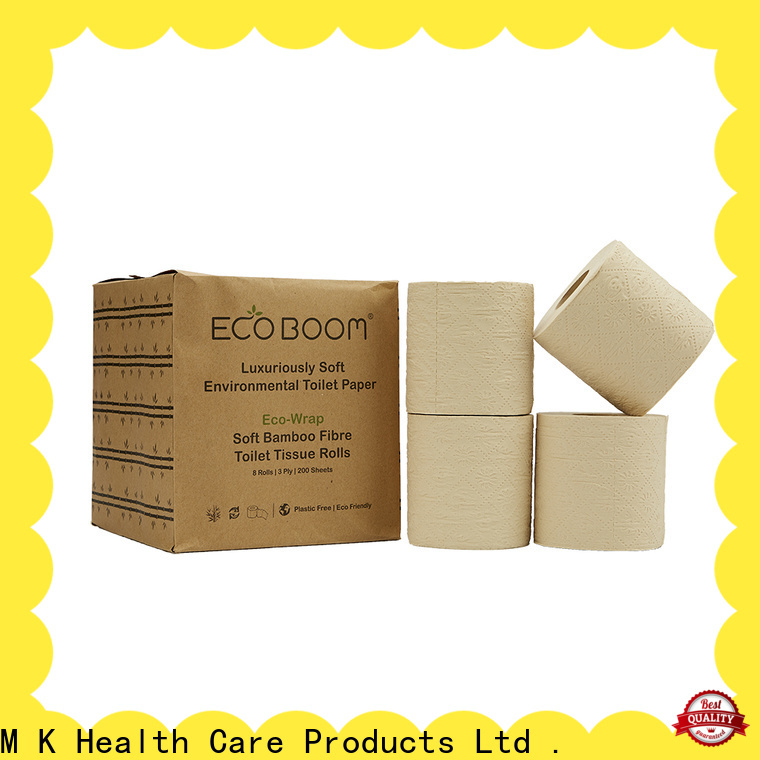 ECO BOOM bamboo toilet paper subscription