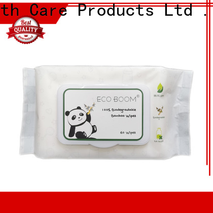 ECO BOOM Custom clearly herbal baby wipes distributor