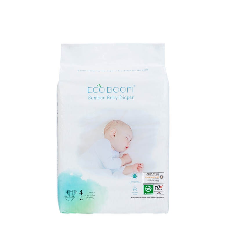 Eco Friendly Baby Diaper Big Pack In Polybag L