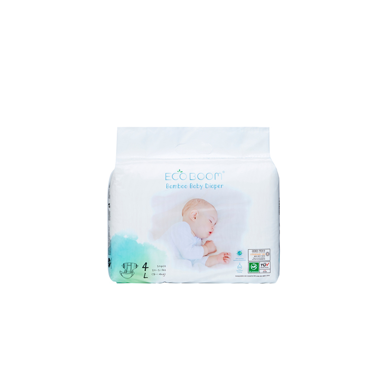 Eco Friendly Baby Diaper Small Pack In Polybag L