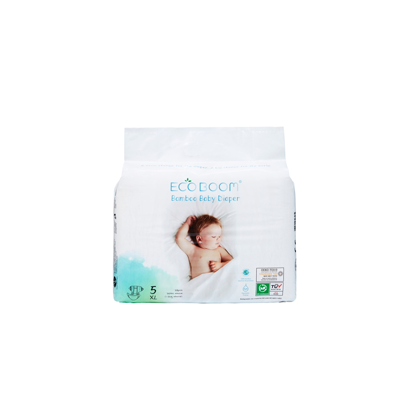Baby Bamboo Biodegradable Disposable Baby Diaper Small Pack Size XL