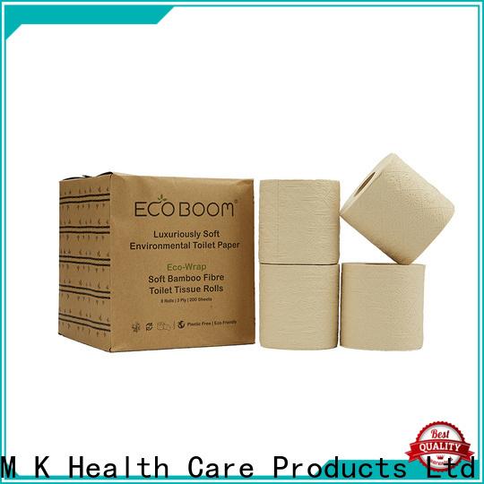 ECO BOOM organic bamboo toilet paper