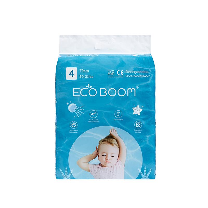 ECO BOOM Plant-based Diaper Size L