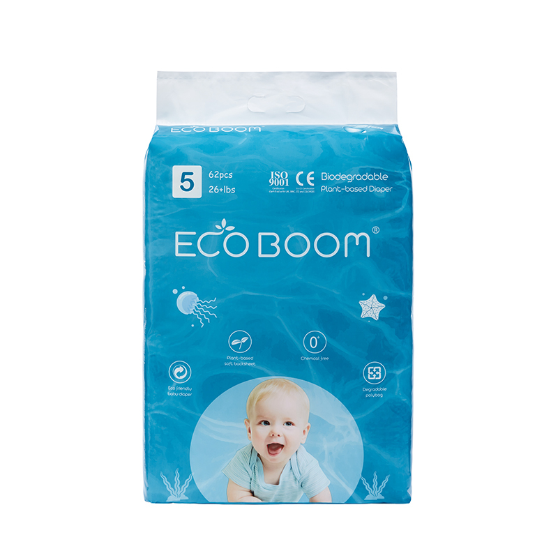 ECO BOOM Plant-based Diaper Size XL