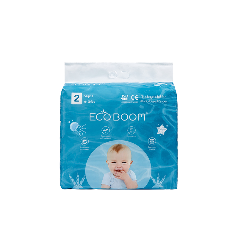 ECO BOOM Plant-based Diaper Size S