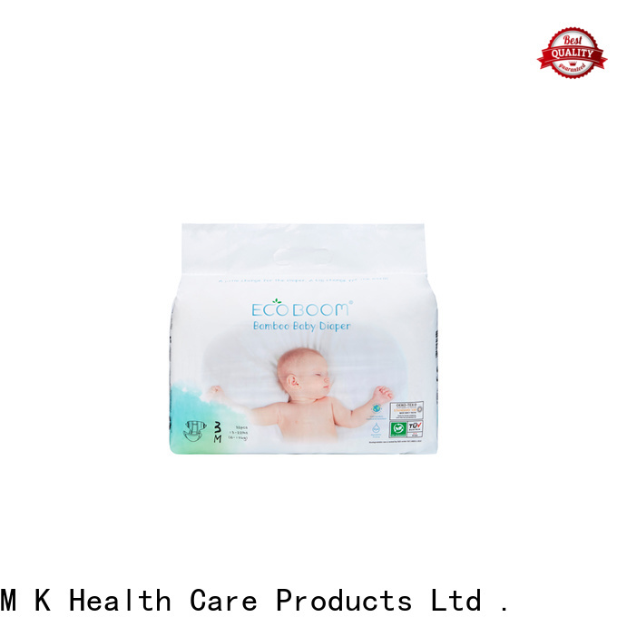 ECO BOOM best organic disposable diapers suppliers
