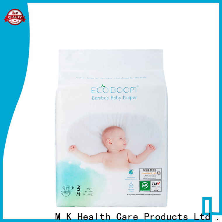 ECO BOOM diaper sizes by weight distributor