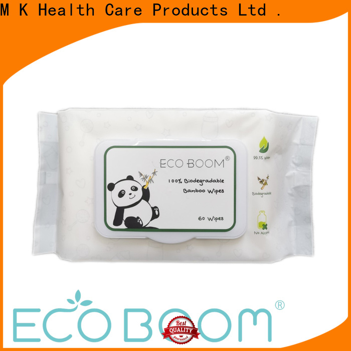 Custom chemical free baby wipes manufacturers