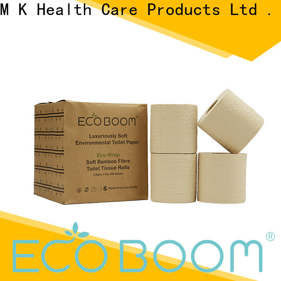 ECO BOOM OEM bamboo toilet paper company