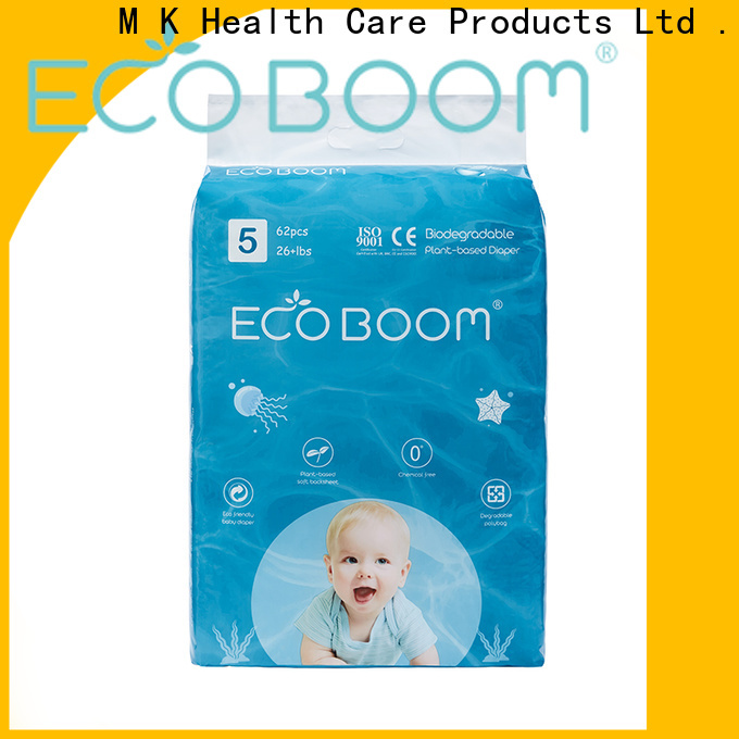 ECO BOOM OEM best biodegradable diapers factory