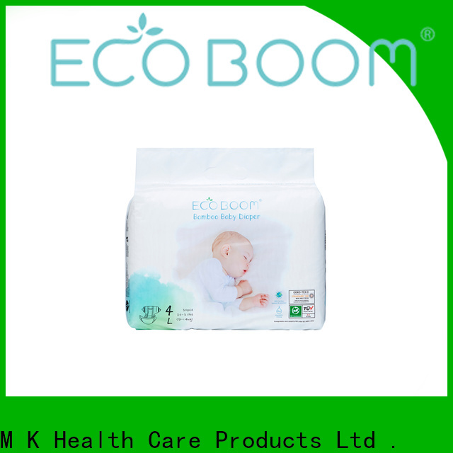 ECO BOOM price of small package of diapers partnership