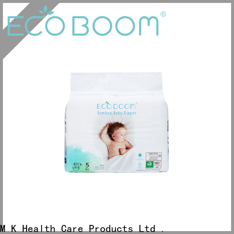 ECO BOOM bamboo biodegradable diapers suppliers