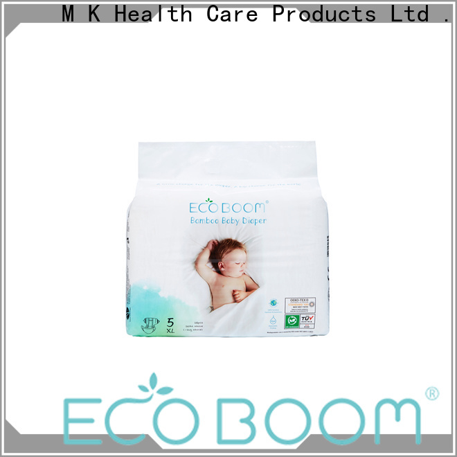 ECO BOOM Wholesale small pack of newborn diapers factory