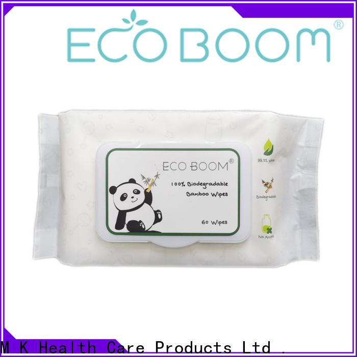 ECO BOOM baby wipes green company