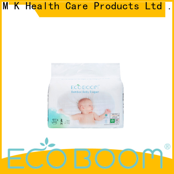ECO BOOM best disposable diapers for baby distribution